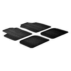 Set tappeti su misura in gomma -  Fiat Panda (09/0301/12) -  Fiat Panda Classic (02/1212/12)