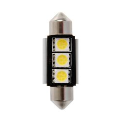 """LAMPADA SILURO""""HYPER-LED"""" 10X36MM. 3SMDX3CHIPS (9CHIPS)"""